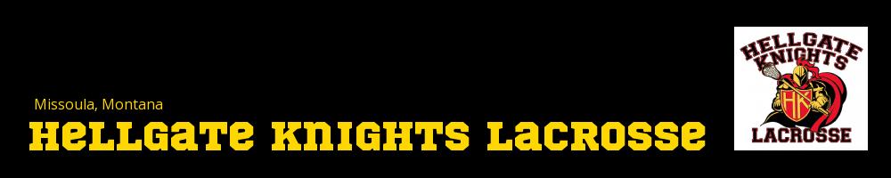 Hellgate Knights Lacrosse, Lacrosse, Goal, Field