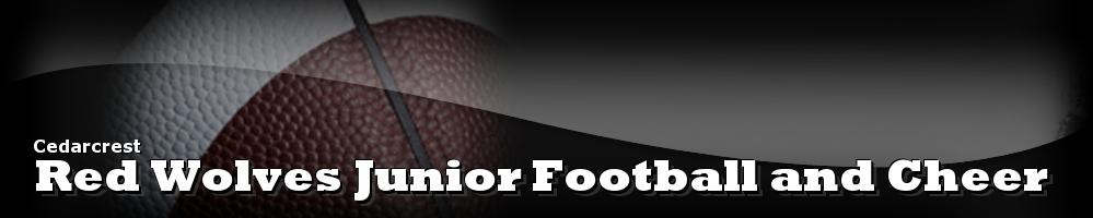 Red Wolves Junior Football Association, Football, Goal, Cedarcrest High School