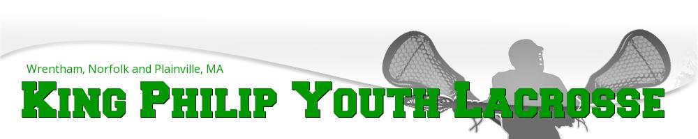 King Philip Youth Lacrosse, Lacrosse, Goal, Field