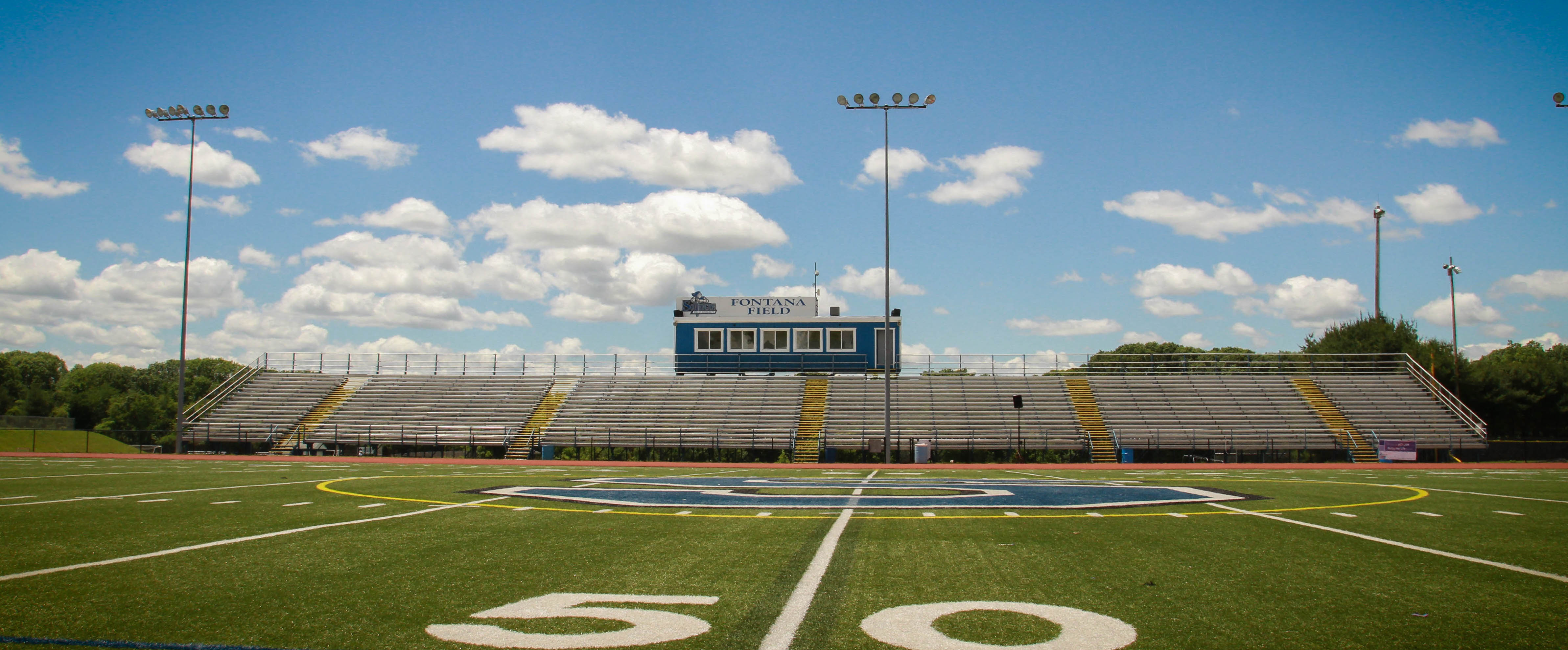 Southington High School Football, Football, Touchdown, Fontana Field
