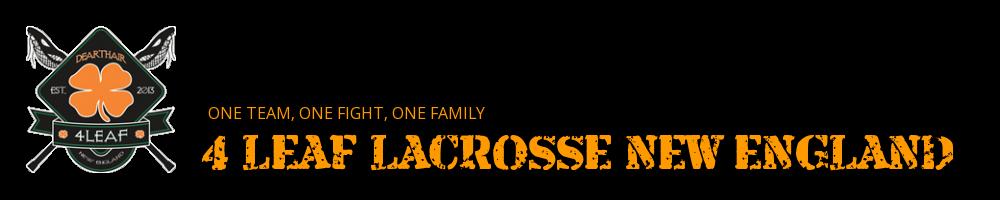 4 LEAF LACROSSE NEW ENGLAND, Lacrosse, Goal, Field
