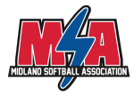 Midland Softball Association, Softball