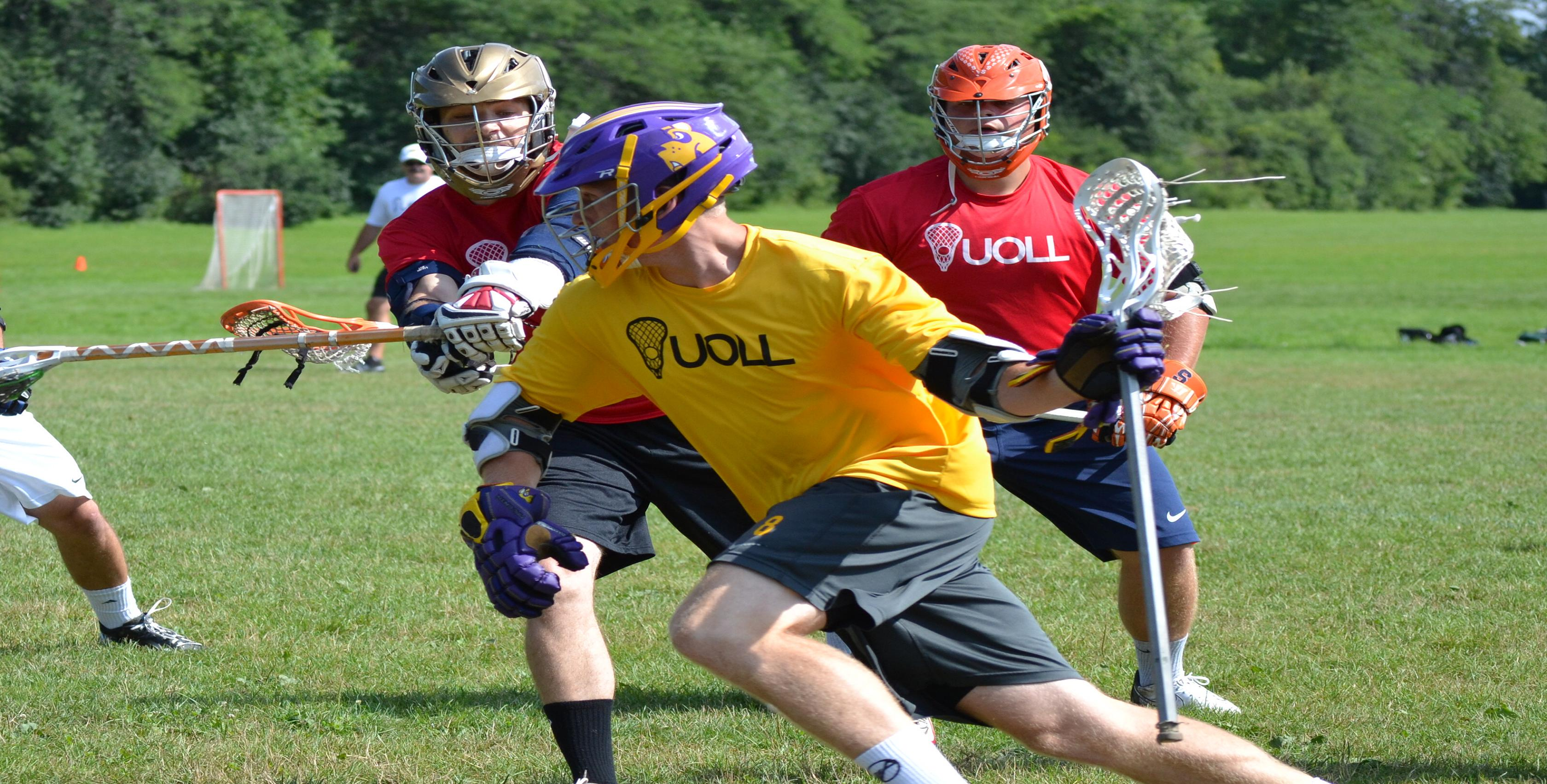 Upstate Outdoor Lacrosse League, Lacrosse, Goal, Field