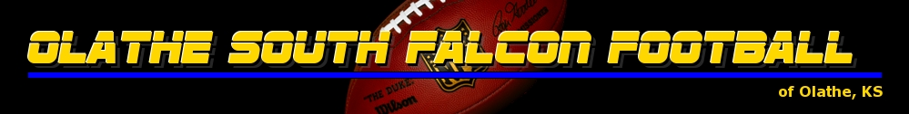 Olathe South Falcon Football, Football, ,