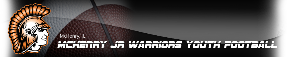 McHenry Jr Warriors Youth Football, Football, Touchdown, Field