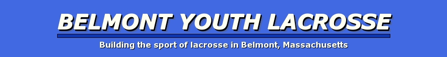Belmont Youth Lacrosse, Lacrosse, goal, Fields/Direction