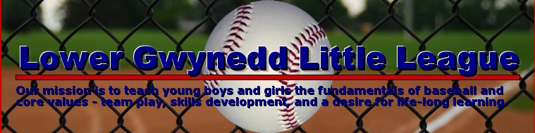 Lower Gwynedd Little League, Baseball, Run, Field