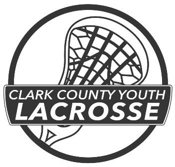 Clark County Youth Lacrosse, Lacrosse, Goal, Field