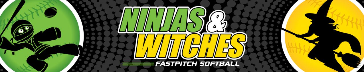 Ninjas Witches Fastpitch, Softball, Run, Field