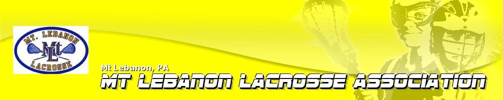 Mt. Lebanon Lacrosse Association, Lacrosse, Goal, Field