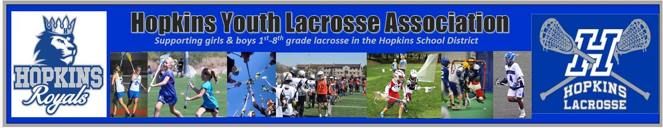 Hopkins Youth Lacrosse Association, Lacrosse, Goal, Field