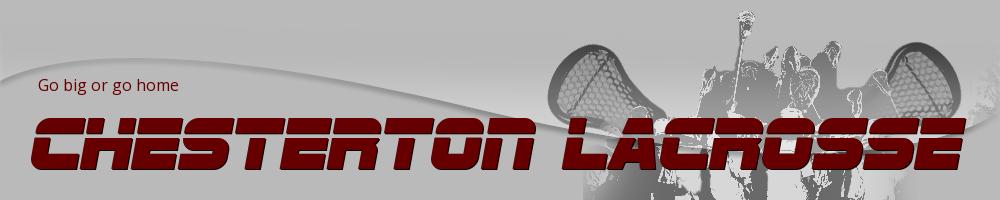 Chesterton Lacrosse, Lacrosse, Goal, Field