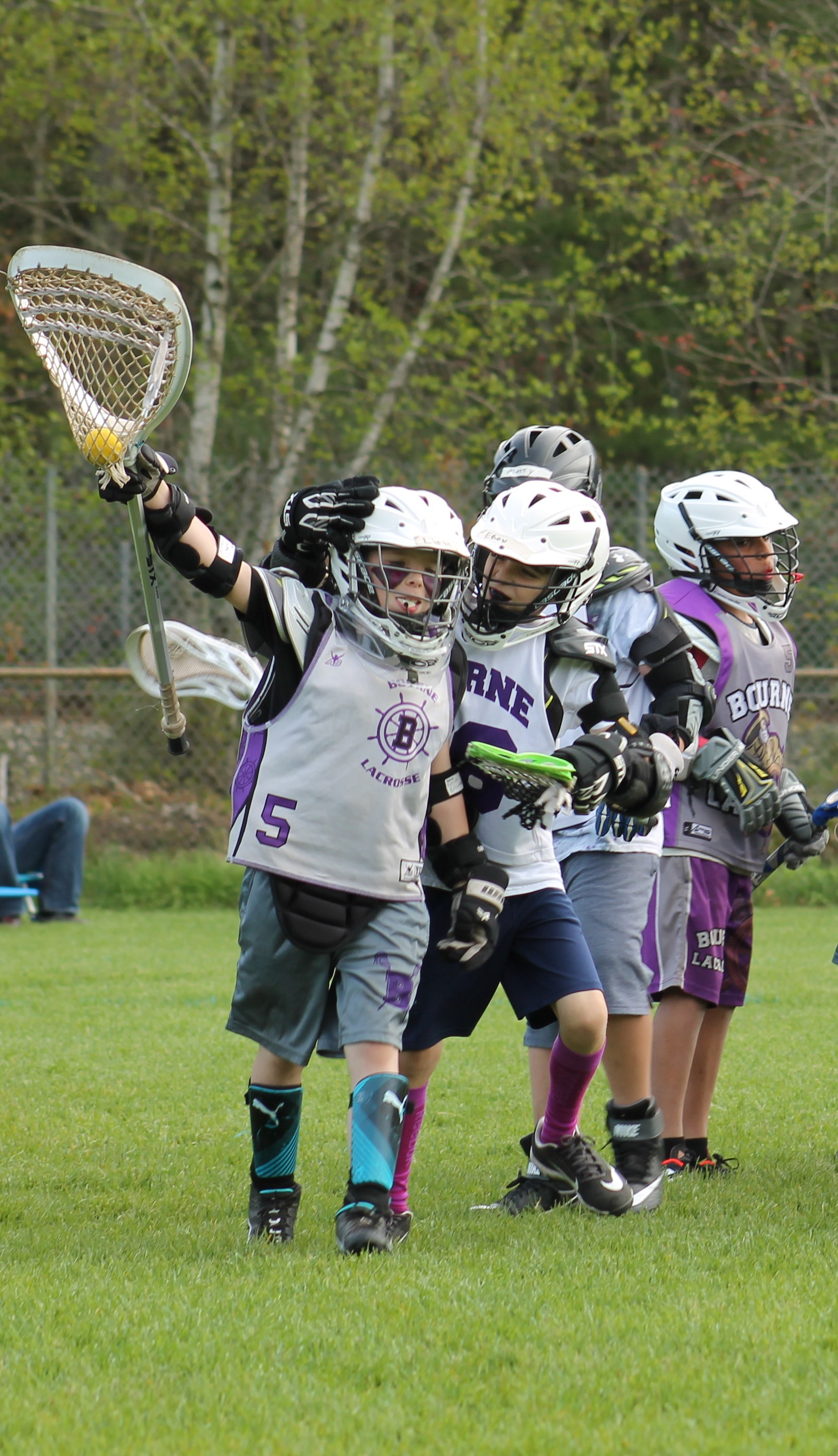 Bourne Youth Lacrosse, Lacrosse, Goal, Field