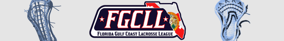 Florida Gulf Coast Lacrosse League, Lacrosse, Goal, Field