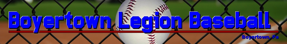 Boyertown Legion Baseball , Baseball, Run, Bear Stadium