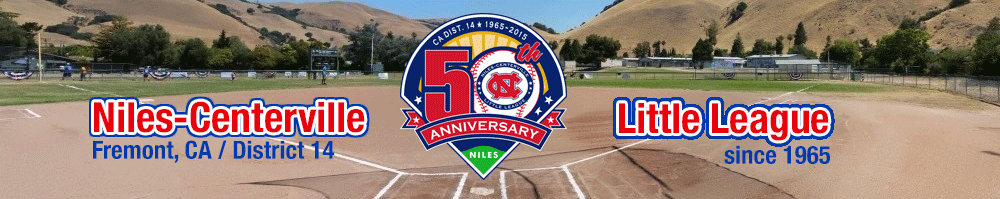 Niles Centerville Little League, Baseball, Run, Field