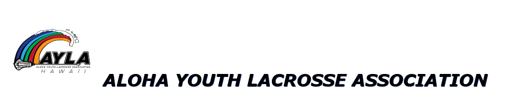 Aloha Youth Lacrosse Association, Lacrosse, Goal, Field