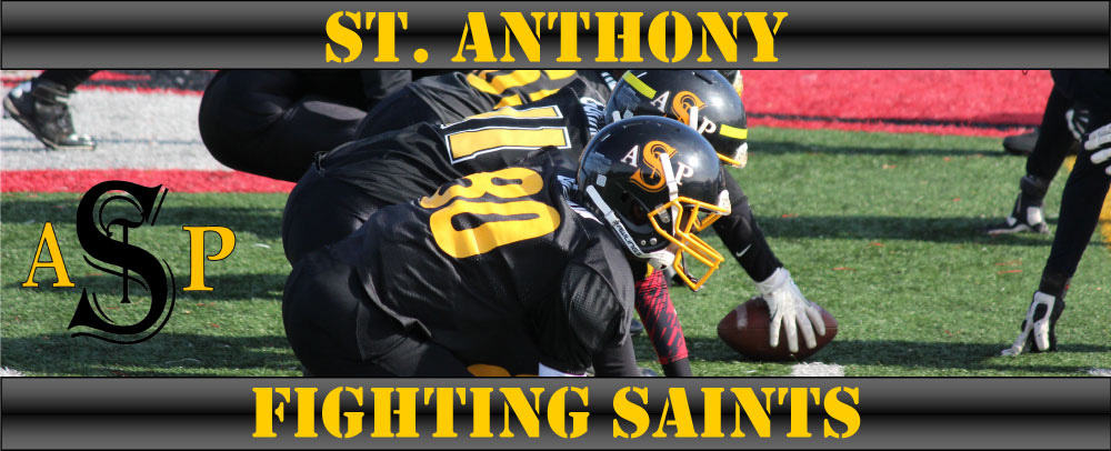 St Anthony Fighting Saints, Football, Touchdown, Field