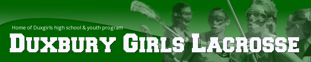 Duxbury Girls Youth Lacrosse, Lacrosse, Goal, Field