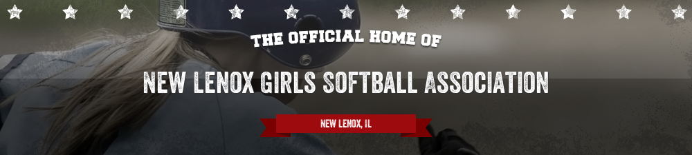New Lenox Girls Softball Association, Softball, Run, Walona Fields 1 - 5