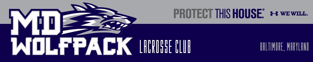 MD Wolfpack, Lacrosse, Goal, Field