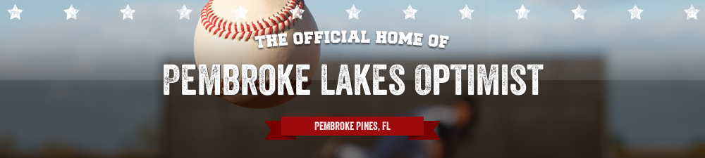 Pembroke Lakes Optimist, Baseball, Run, Field