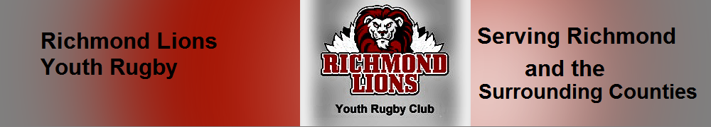 Richmond Lions Youth Rugby Club, Rugby, Try, Pitch