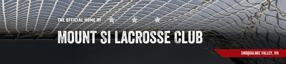 Mount Si Lacrosse Club, Lacrosse, Goal, Field