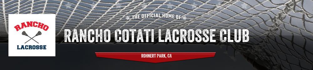 Rancho Cotati Lacrosse Club, Lacrosse, Goal, Field