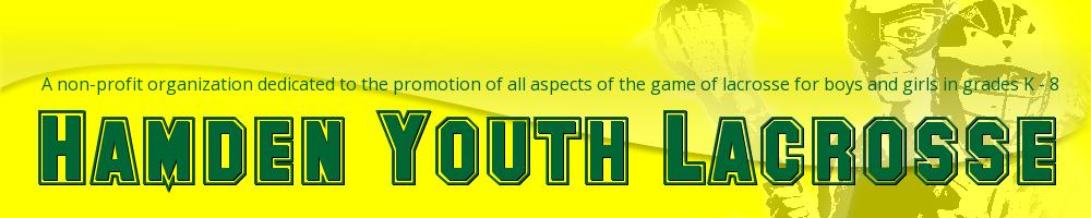 Hamden Youth Lacrosse, Lacrosse, Goal, Field