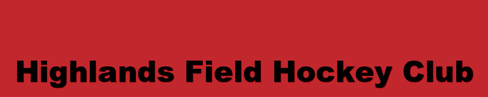 Highlands Field Hockey Club, Field Hockey, Goal, Field