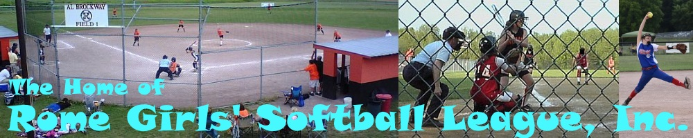 Rome Girls Softball League, Inc., Softball, Run, John Kost Memorial Fields