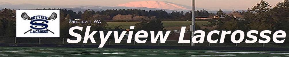Skyview Lacrosse, Lacrosse, Goal, Field