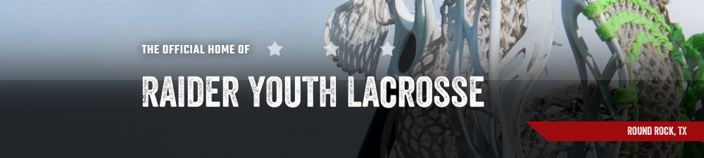 Raider Youth Lacrosse, Lacrosse, Goal, Field