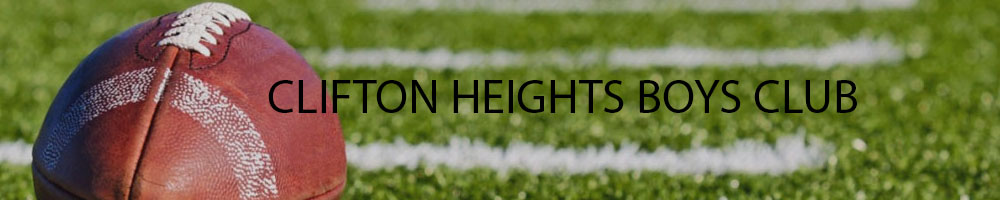 Clifton Heights Boys Club, Football and Cheerleading, , Clifton Heights Football Field