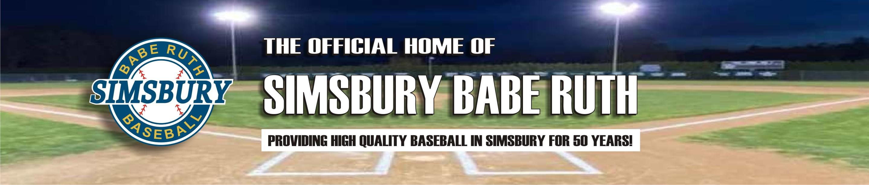 Simsbury Babe Ruth , Baseball, Run, Baseball Field