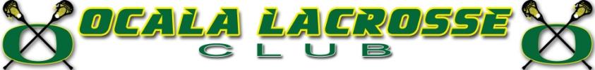 Ocala Lacrosse Club, Lacrosse, Goal, Field