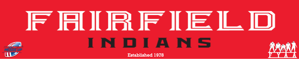 Fairfield Youth Athletic Association, Football, Score, Field