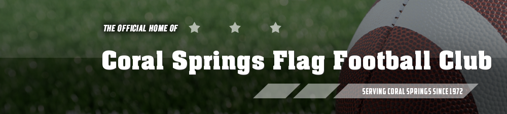 Coral Springs Flag Football Club, Football, Goal, Field