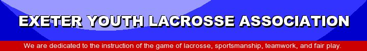 Exeter Youth Lacrosse Association, Lacrosse, Goal, Field