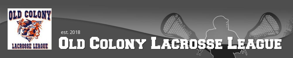 Old Colony Lacrosse League, Lacrosse, Goal, Field
