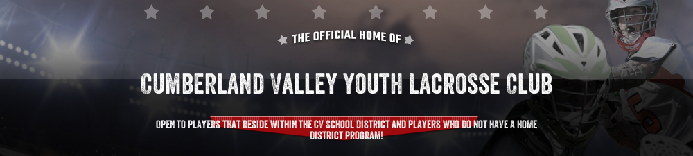 Cumberland Valley Youth Lacrosse Club, Lacrosse, Goal, Field