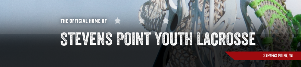 Stevens Point Youth Lacrosse, Lacrosse, Goal, Field