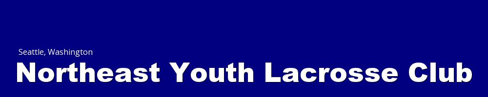 Northeast Youth Lacrosse Club, Lacrosse, Goal, Field