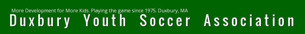 Duxbury Youth Soccer Association, Soccer, Goal, Field