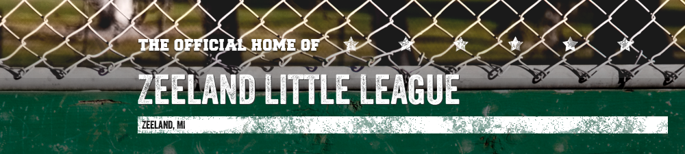 Zeeland Little League, Baseball, Run, Field