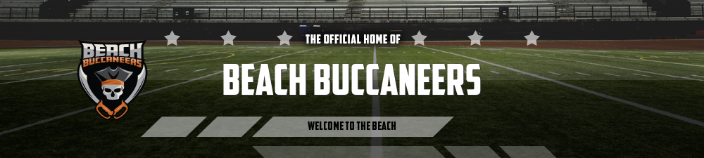 Beach Buccaneers, Football, Goal, Kellams Field