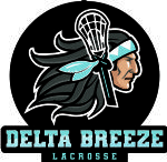 Delta Breeze Lacrosse Association, Lacrosse