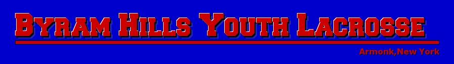 Byram Hills Youth Lacrosse, Lacrosse, Goal, Field