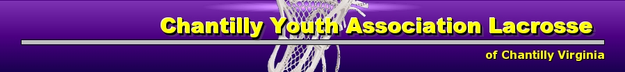 Chantilly Youth Lacrosse, Lacrosse, Goal, Field